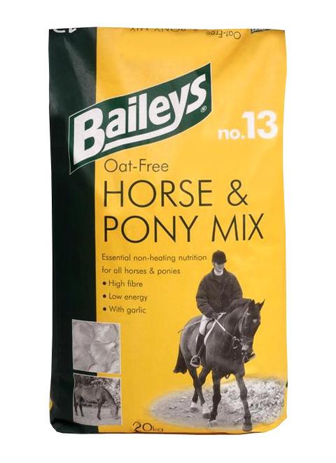 Zdjęcie Baileys Oat Free Horse & Pony Mix No. 13   20kg