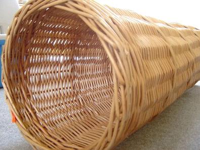 Zdjęcie Zuzala Tunel wiklinowy dla królików krótki  dł. 40cm, śr. 25cm
