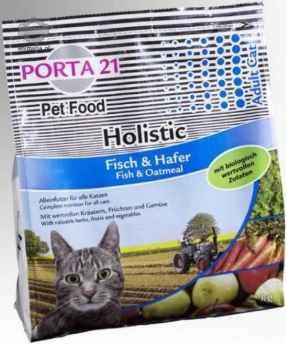 Zdjęcie Feline Porta 21 Holistic Cat Fish & Oatmeal sucha karma ryba i owies 2kg