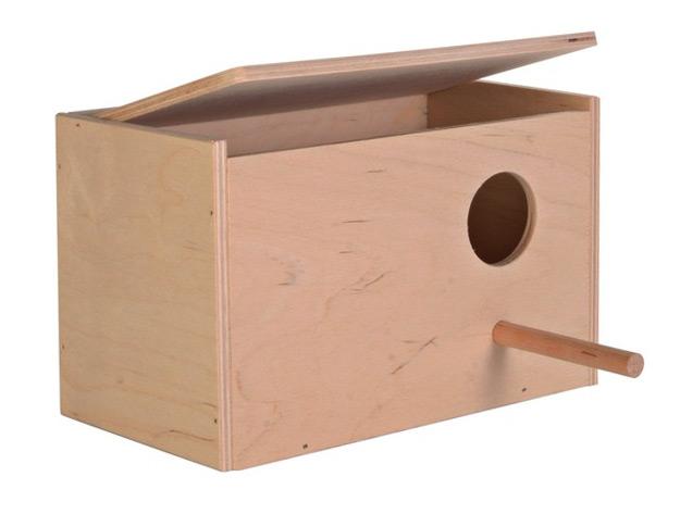Zdjęcie Trixie Drewniana lęgówka dla papug mała 21 x 12.5 x 13 cm