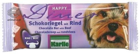 Zdjęcie Karlie Batonik dla psa  czekoladowy z wołowiną 30g