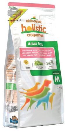 Zdjęcie Almo Nature Holistic Dog Adult Medium  z łososiem i  brązowym ryżem 12kg