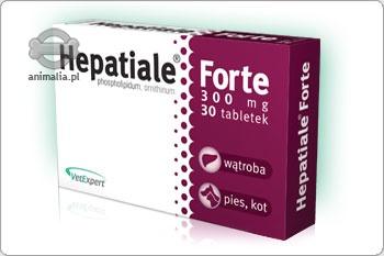 Zdjęcie VetExpert Hepatiale Forte 300 mg dla średnich psów i dużych kotów 30 tabletek