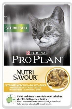 Purina Pro Plan Cat Sterilised saszetka kurczak 85g