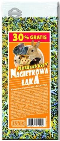 Zdjęcie Certech Natural-Vit Mieszanka dla królików i gryzoni  nagietkowa łąka 150g