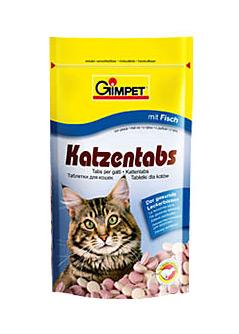 Zdjęcie Gimpet Katzentabs - tabletki witaminowe  z rybą 80 szt.
