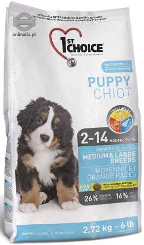 1st Choice Dog Puppy Medium & Large Breeds   15kg