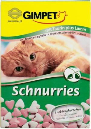 Zdjęcie Gimpet Schnurries - tabletki witaminowe  z jagnięciną i tauryną 650 szt.