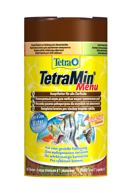 Zdjęcie Tetra TetraMin Menu Futtermix  płatki 100ml