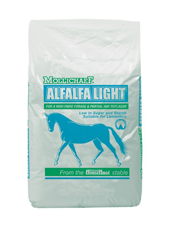 Zdjęcie Mollichaff Alfalfa Light  lucerna i słoma owsiana 15kg