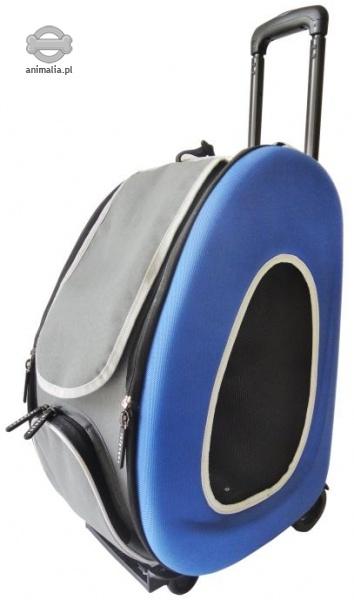 ZooComfort Transporter składany 4w1 niebieski 50 x 30 x 34 cm
