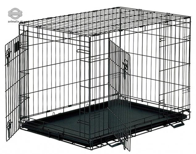 Zdjęcie Midwest Klatka dla psa Life Stages Double Door  składana z podwójnymi drzwiami 56 x 33 x 41 cm