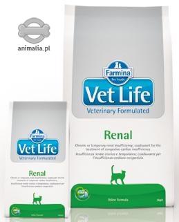 Farmina Vet Life Cat Renal schorzenia nerek 2kg