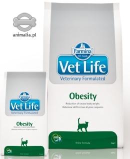 Farmina Vet Life Cat Obesity otyłość 5kg