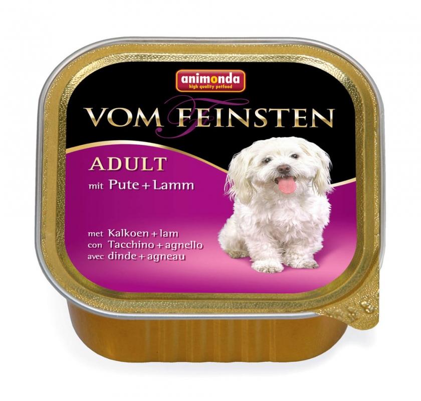 Zdjęcie Animonda Vom Feinsten Dog Adult  indyczka i jagnięcina 150g