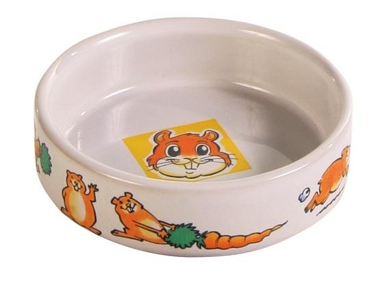 Zdjęcie Trixie Miska ceramiczna dla chomika z motywem  90 ml/ø 8 cm