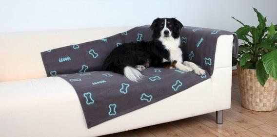 Trixie Kocyk Barney dla psa lub kota ciemnoszary 150 x 100 cm