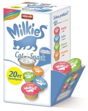 Zdjęcie Animonda Przysmak dla kota Milkies Megapak  Selection Mix  20x 15g