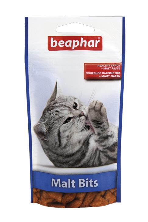 Zdjęcie Beaphar Malt Bits  odkłaczające 150g
