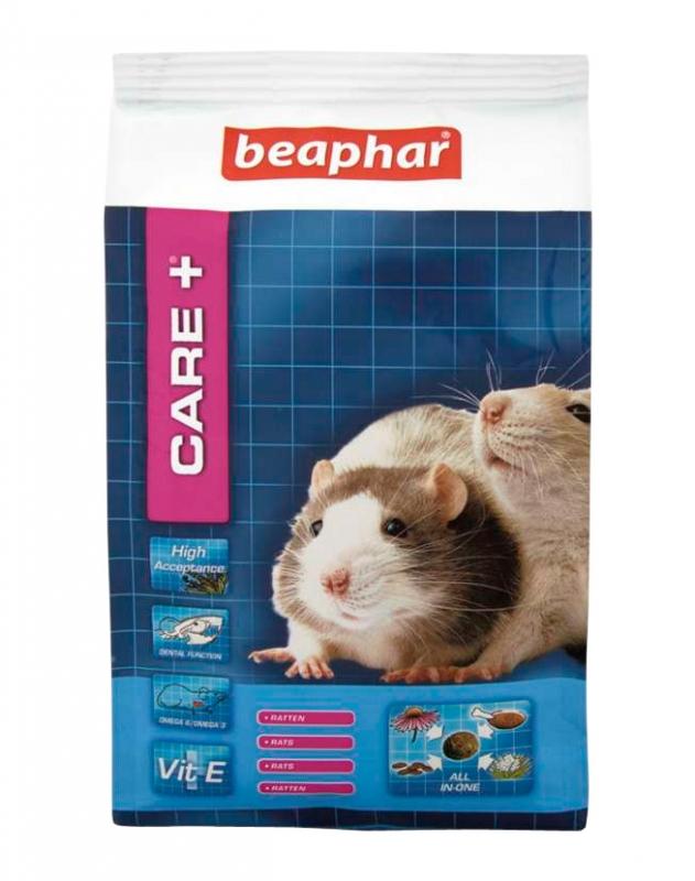 Zdjęcie Beaphar Care + kompletny pokarm w granulacie  dla szczura 250g