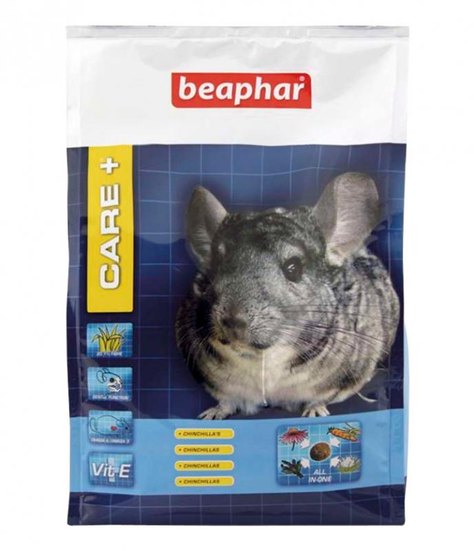 Zdjęcie Beaphar Care + kompletny pokarm w granulacie  dla szynszyla 1.5kg