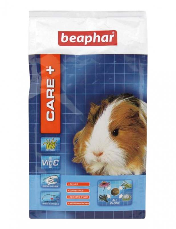 Zdjęcie Beaphar Care + kompletny pokarm w granulacie  dla świnki morskiej 250g