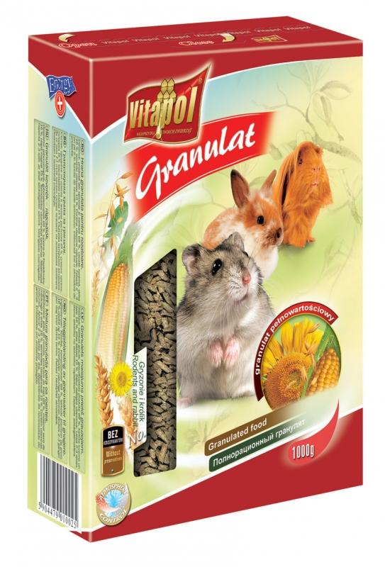 Zdjęcie Vitapol Pokarm pełnowartościowy granulat  dla gryzoni i królików 1kg