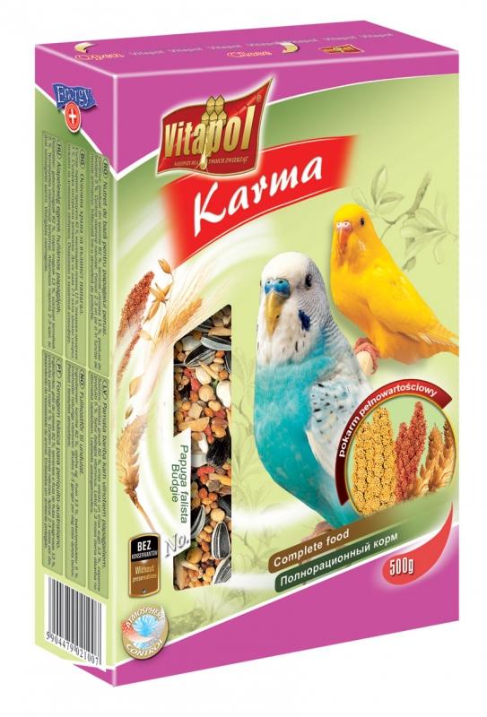 Zdjęcie Vitapol Pokarm pełnowartościowy dla papużki falistej   500g