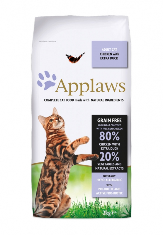 Applaws Natural Cat Food Adult Chicken & Duck z kurczakiem i kaczką 7.5kg