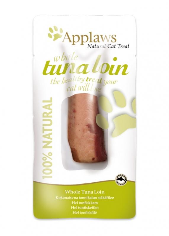 Applaws Natural Cat Treats półmiekkie przysmaki polędwica z tuńczyka 30g