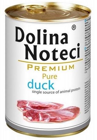 Zdjęcie Dolina Noteci Premium Pure puszka dla psa  kaczka 400g