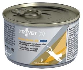 Trovet ASD (Anti-Struvite Diet) puszka dla kota z kurczakiem 85g