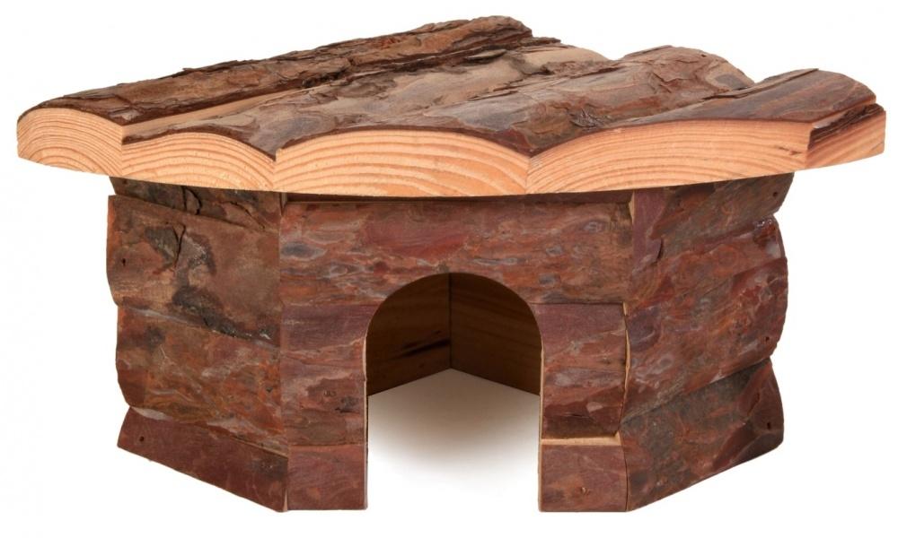 Zdjęcie Trixie Drewniany domek narożny Jesper dla chomika 22 × 10 × 15/15 cm