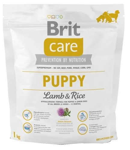 Zdjęcie Brit Care New Puppy All Breeds  lamb & rice 1kg