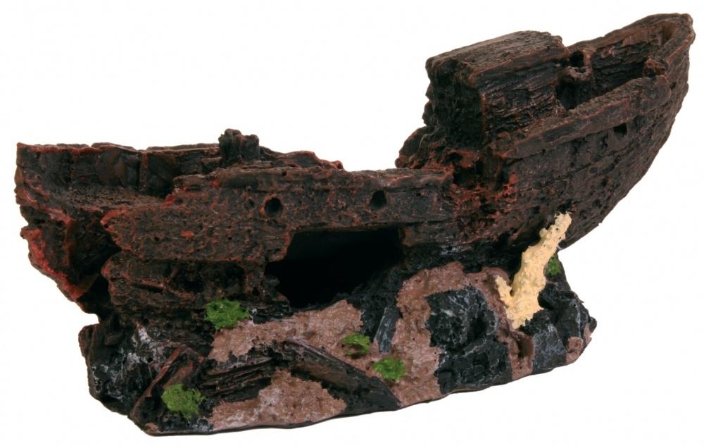 Zdjęcie Trixie Dekoracja wrak statku średni  24,5 cm