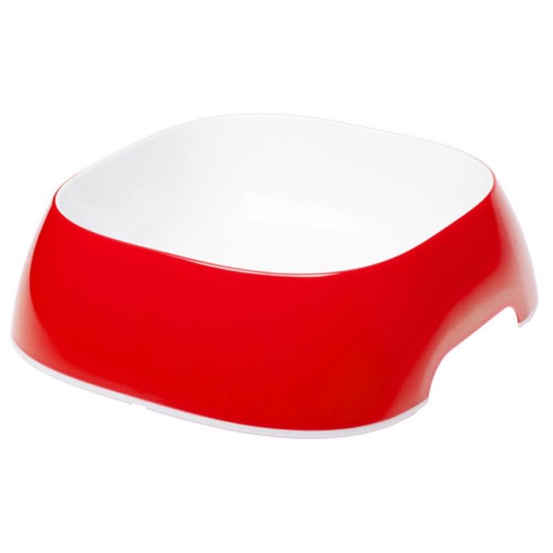 Ferplast Miska Glam Large  czerwona 1.2l