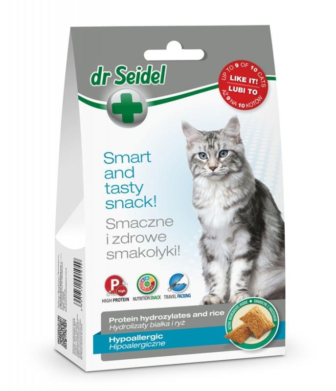 Zdjęcie dr Seidel Smakołyki dla kotów  hipoalergiczne  50g