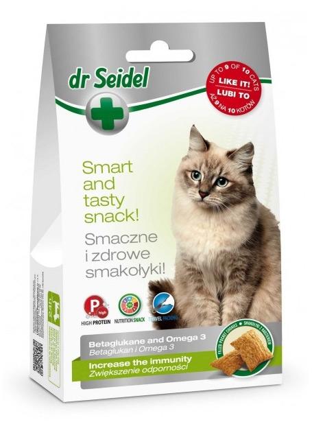 Zdjęcie dr Seidel Smakołyki dla kotów  zwiększające odporność 50g