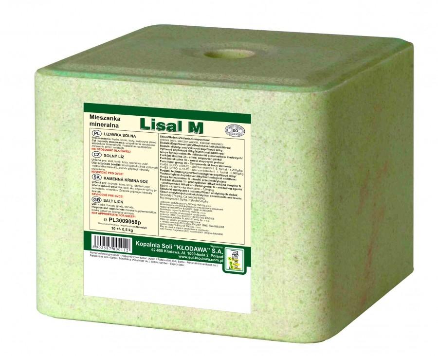 Zdjęcie Lisal Lizawka solna Lisal M  zielona 10kg