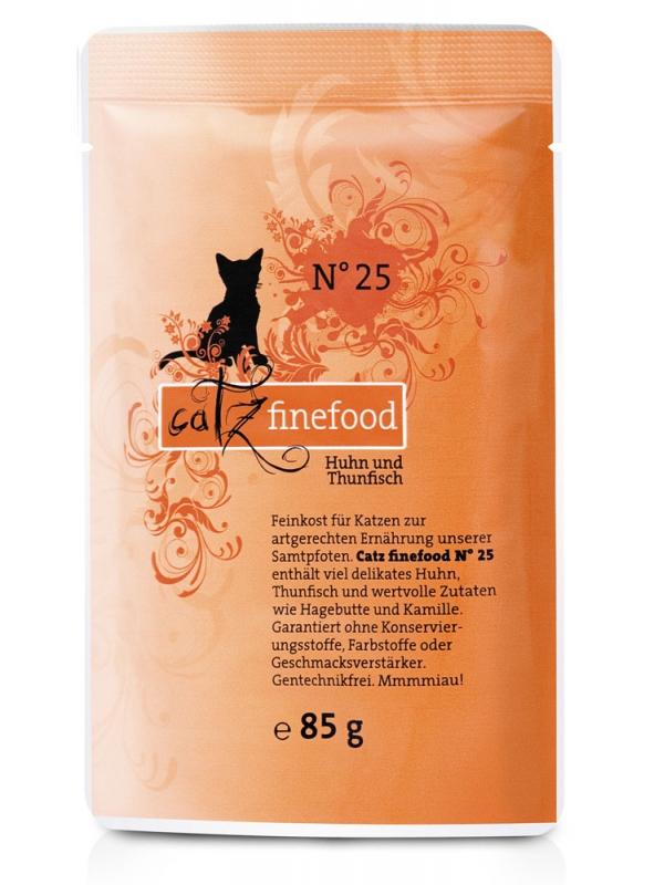 Catz Finefood N.25 saszetka Kurczak i Tuńczyk 85g