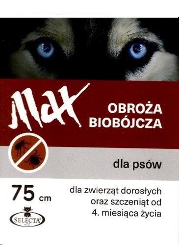Zdjęcie Selecta Max obroża biobójcza dla małych psów  brązowa 43 cm
