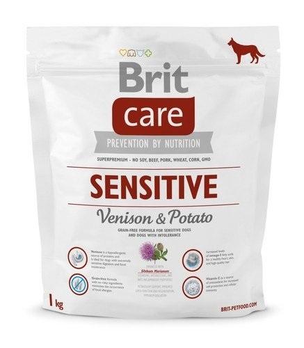 Zdjęcie Brit Care Sensitive Grain Free Adult All Breed  venison & potato 1kg