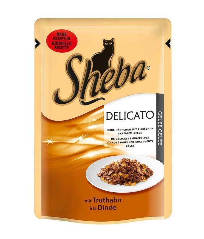 Sheba Delicato saszetka z indykiem w galaretce 85g