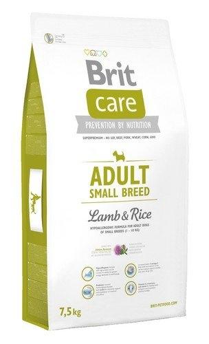 Zdjęcie Brit Care New Adult Small Breeds  lamb & rice 7.5kg