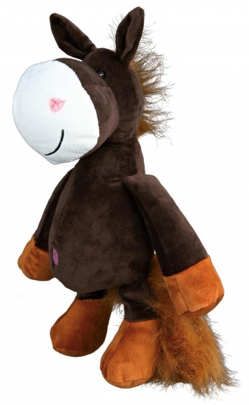 Zdjęcie Trixie Pluszowa zabawka dla psa koń duży  32 cm