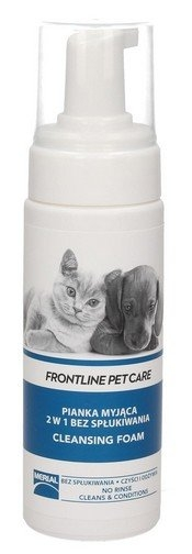 Frontline Pet Care Pianka myjąca 2 w 1 bez spłukiwania  150ml
