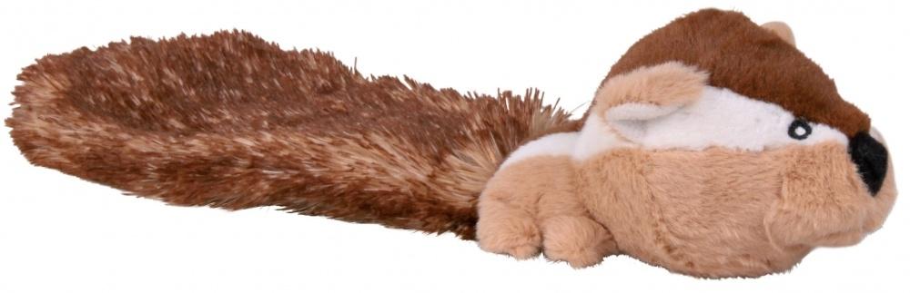 Zdjęcie Trixie Pluszowa zabawka dla psa wiewiórka burunduk z dużym ogonem 30 cm