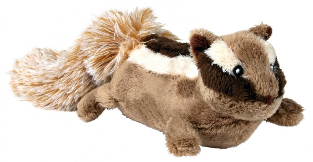 Zdjęcie Trixie Pluszowa zabawka dla psa wiewiórka ziemna   28 cm