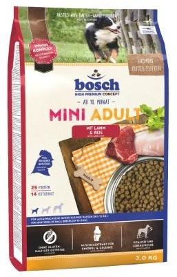 Zdjęcie Bosch Adult Mini Lamb & Rice  ze świeżym drobiem i jagnięciną 1kg
