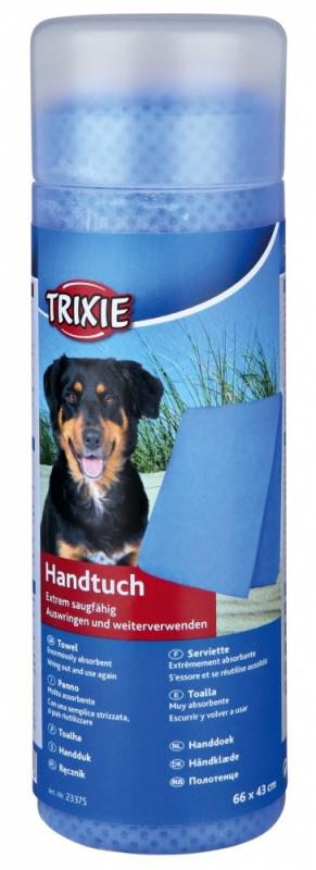 Trixie Ręcznik wysokoabsorbcyjny PVA niebieski 63 x 44 cm
